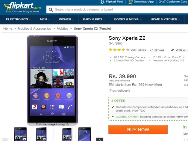 Sony Xperia Z3 Price in India, Full Specs (2nd July 2019 ...