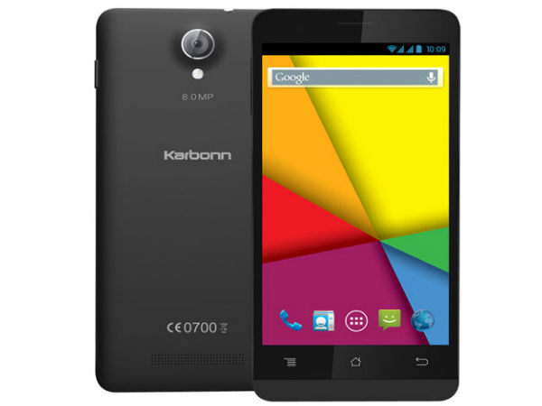 Karbonn Titanium S5 Ultra Launched With 5-Inch Display At Rs 6,999