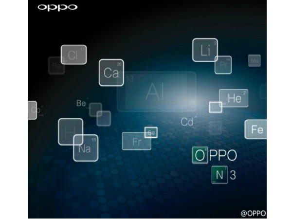 Forthcoming Oppo N3 Tipped To Feature a  Lithium Alloy Body