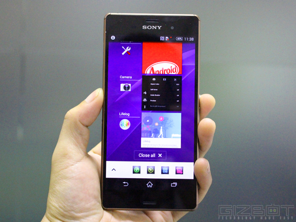 Sony Xperia Z3 With 20.7MP Camera Launched in India At Rs 51,990