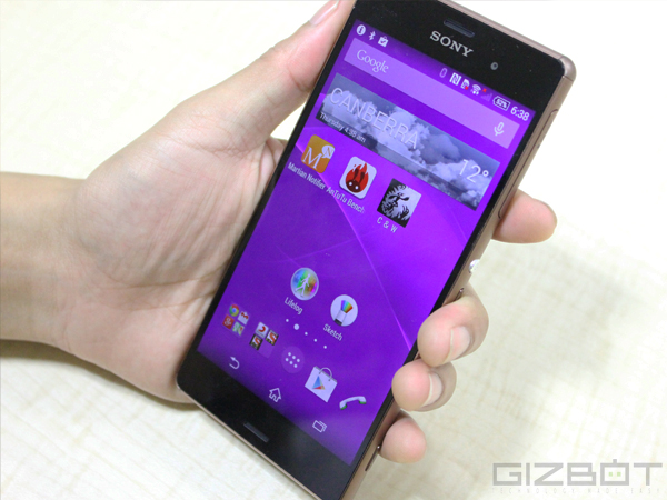 Sony Xperia Z3 Hands On and First Look