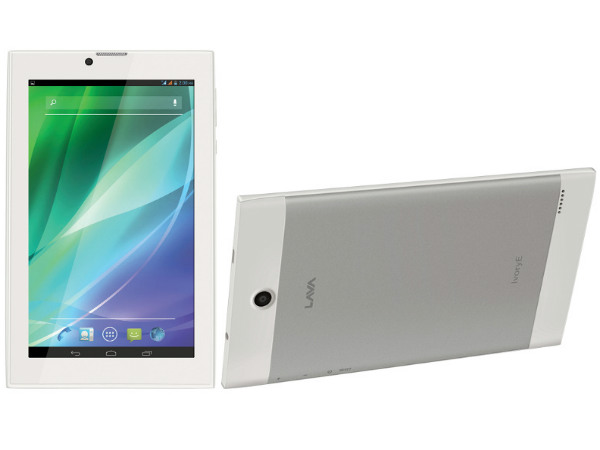 Lava IvoryE Tablet With 7-inch Display Launched At Rs 6,099