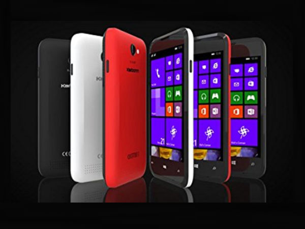 Karbonn Titanium Wind W4 With Windows Phone 8.1 Launched in India