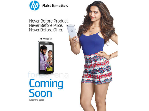 HP Teases VoiceTab 7 Tablet: Coming Soon in India