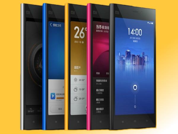 Xiaomi Plans To Sell 1,00,000 Smartphones Per Week in October in India