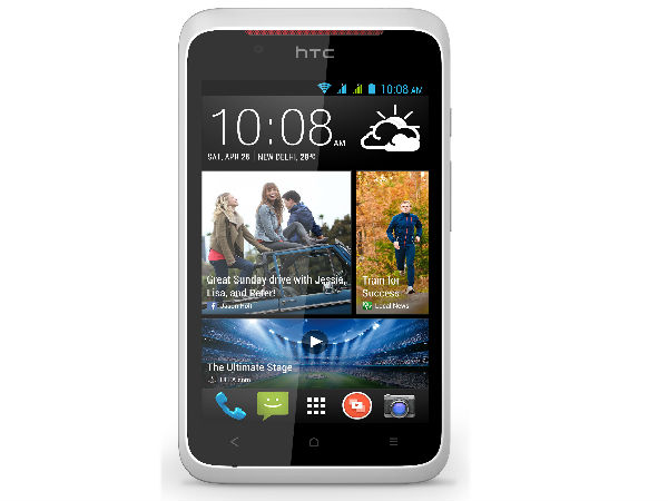 HTC Desire 210: Offer: Get Free HCL Tablet Worth of Rs 5,000