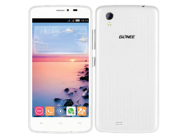 Gionee CTRL V4S with 4.5-inch Display Launched in India At Rs 9,999