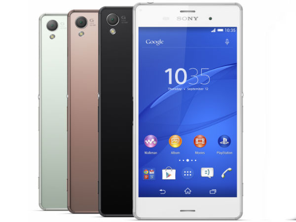 Sony Xperia Z3 VS Samsung Galaxy Note 4
