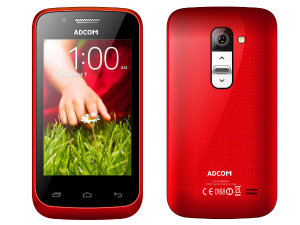 Adcom Launches Adcom KitKat A35 Smartphone At Rs 2,799
