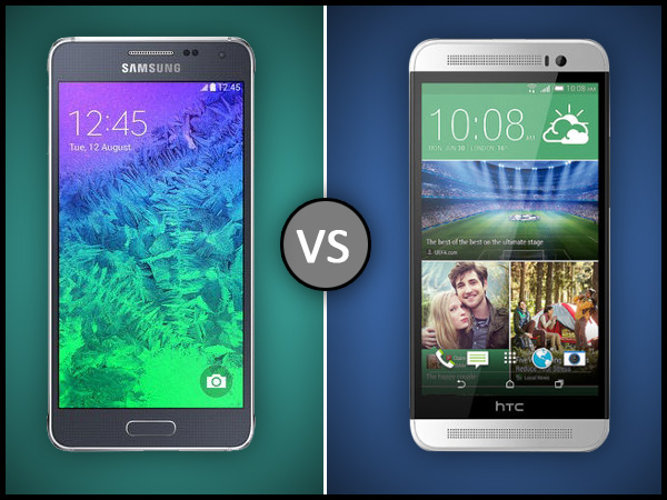 Samsung Galaxy Alpha Vs HTC One (E8): Detailed Specs Comparison