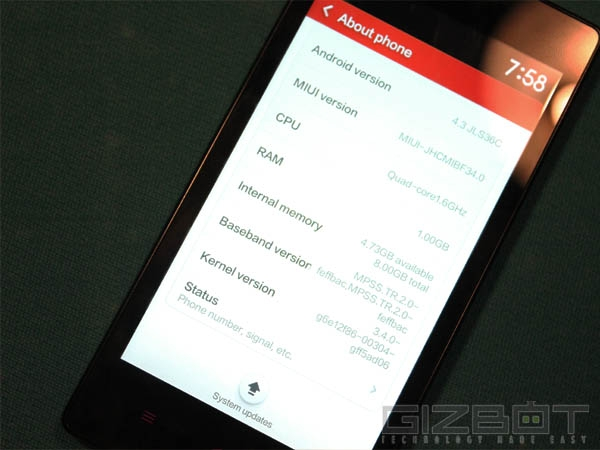 Xiaomi Redmi 1S Full Review: Power with Minimalism; Meet The New Star