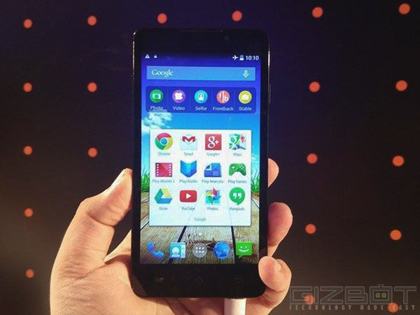Micromax Canvas Nitro A310 Launched at Rs 12,990