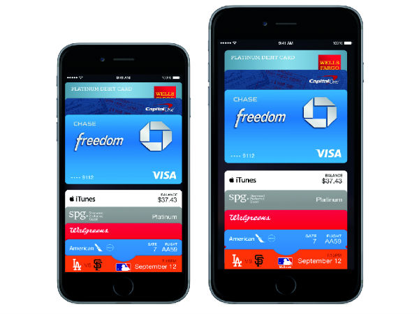 Apple Pay Announced for iPhone 6, iPhone 6 Plus and Apple Watch