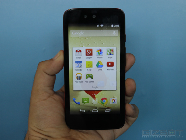 Karbonn Sparkle V Android One Smartphone First Look