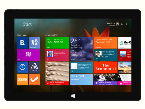 Intel Launches Cain Two-In-One Tablet in India At Rs 19,990