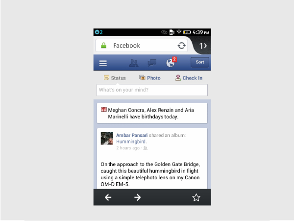 how to  facebook albums firefox