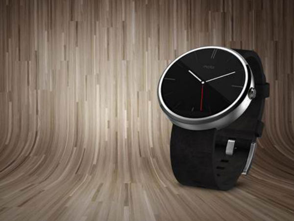 Motorola Moto 360 Finally Launched in India for Rs 17,999