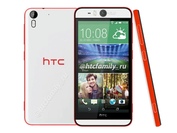 HTC Desire Eye With 13MP Front and Rear Camera Leaks Yet Again