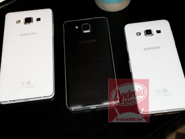 Samsung Galaxy A3 and A5 Leaks Online Ahead of the Official Announce