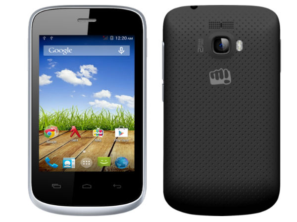 Micromax Bolt A064 Now Available in India At Rs 3,301