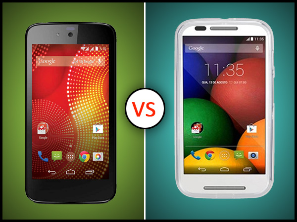 Karbonn Sparkle V Vs Motorola Moto E: Which One To Buy
