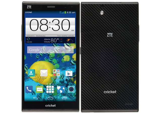 ZTE Launches Grand X Max With 6-inch HD Display and More