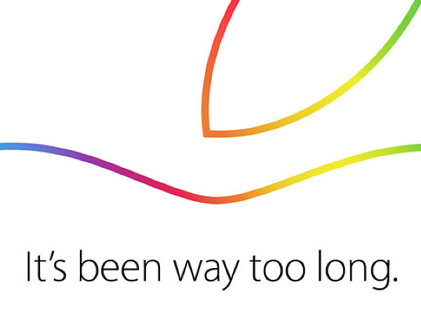 Apple's October 16 Event Press Invite Out: Expect New iPads, Mac and M