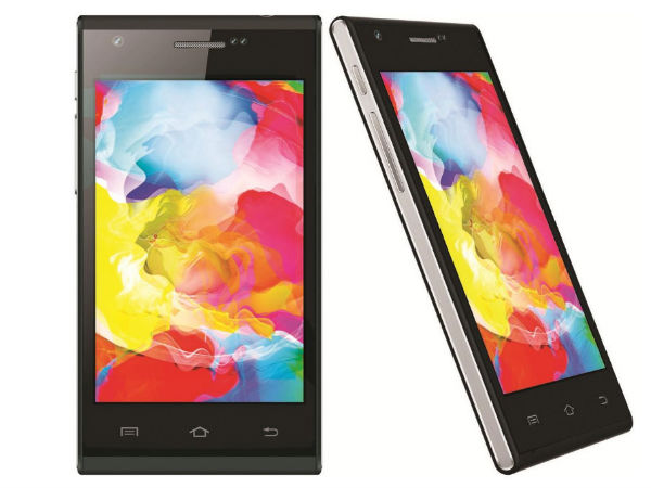 Videocon Infinium Z40 Quad Launched in India At Rs 5,490