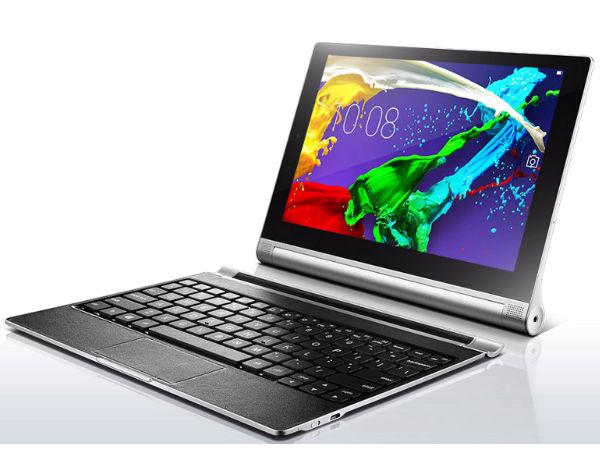 Lenovo Yoga Tablet 2 Series Announced With Convertible Design
