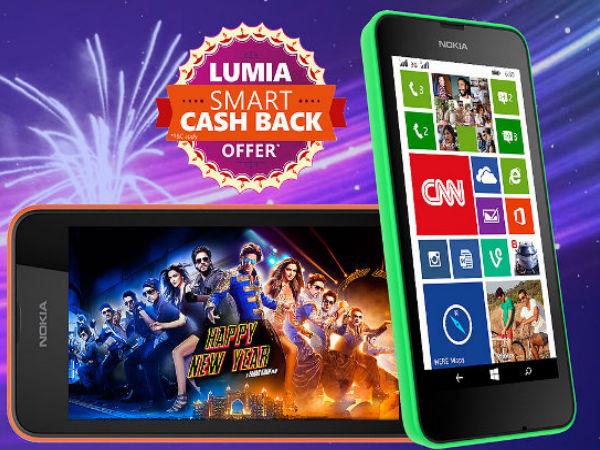 Microsoft Launches Smart Cash Back Offers On Lumia 530, Lumia 630 Smar