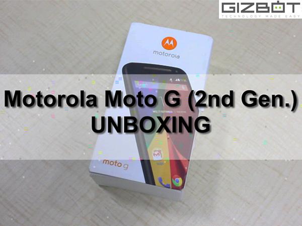 Watch Motorola Moto G (2014) Dual SIM Unboxing [VIDEO]