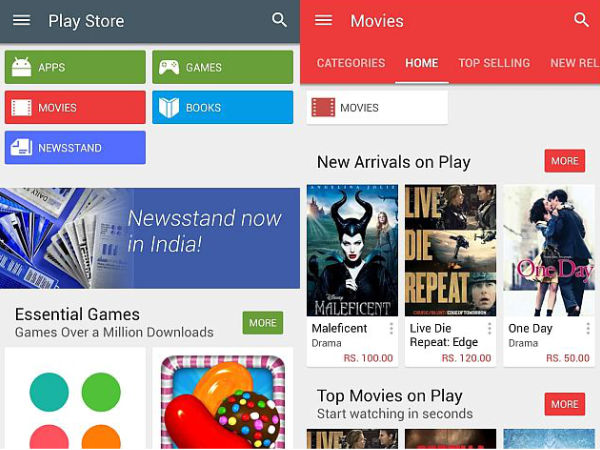 Google Starts Rolling Out Play Store Update Version 5.0