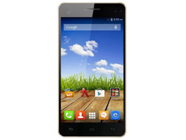 Micromax Canvas HD Plus A190 (Black)