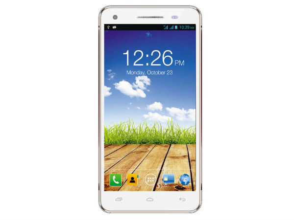 Micromax Canvas 4 Plus A315 (White Gold)