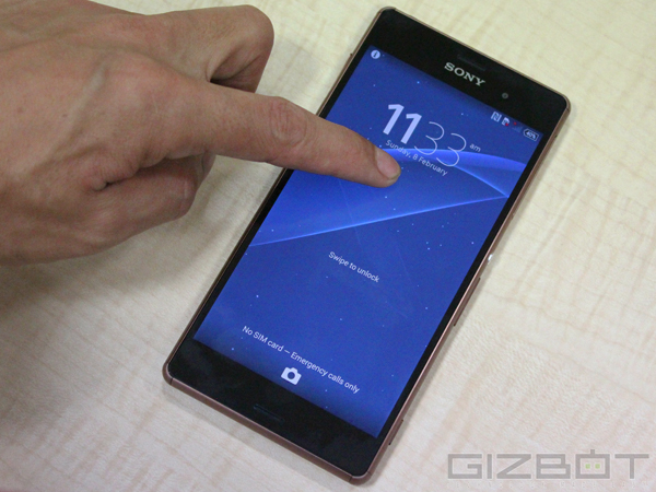 Sony Xperia Z3 Vs HTC One (E8)