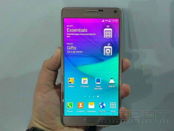 Samsung Galaxy Note 4 Launched in India Today: Price, Specs