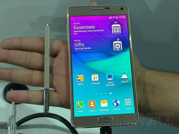 Samsung Galaxy Note 4 Launched in India Today: Price
