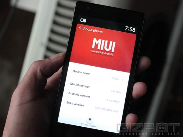 Xiaomi Releases Redmi 1S v45 Update in India with Major Fixes