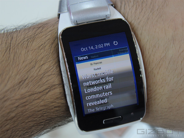 Samsung Gear S First Look
