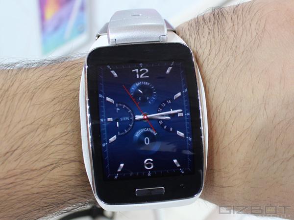 Samsung Gear S First Look