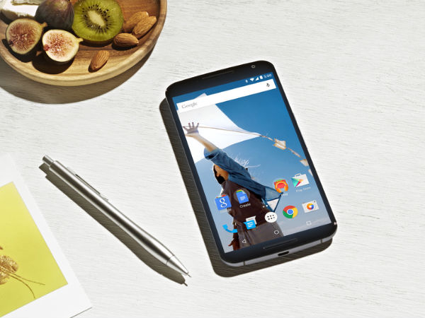 Google Nexus 6 With 64 GB Internal Memory