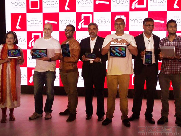 Lenovo Launches Yoga Tablet 2 Series in India Price Starts at Rs 20990