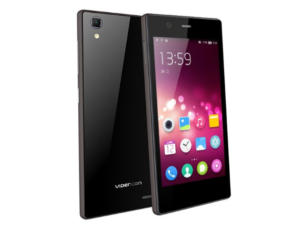 Videocon Launches Infinium Graphite Smartphone At Rs 10,499
