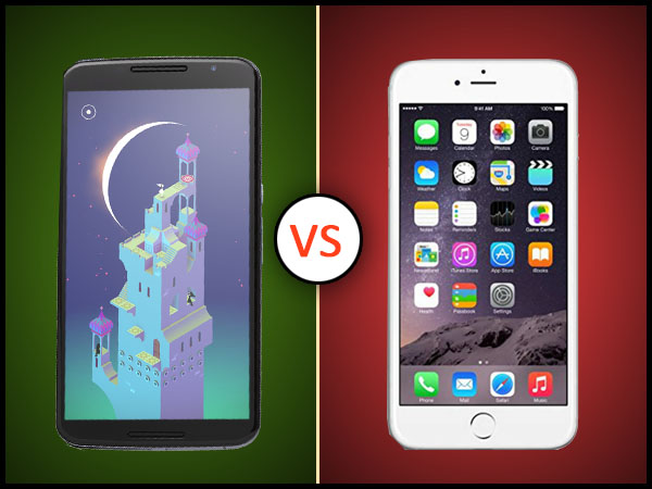 Apple iPhone 6 Plus Vs Google Nexus 6: Who Is The King ?