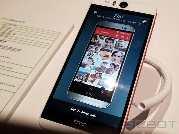 HTC Desire Eye Launched in India: To Be Exclusively Sold Via Amazon