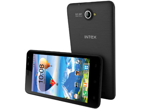 Intex Launches Aqua X With 4.5-inch Display at Rs 4,890