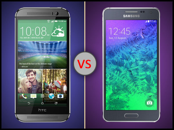 HTC One M8 Eye Vs Samsung Galaxy Alpha: The Supremacy Continues