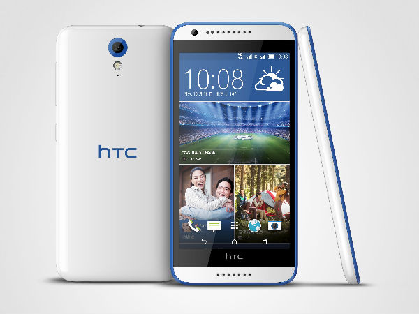 HTC Desire 820 Mini Accidentally Appears On Company Website