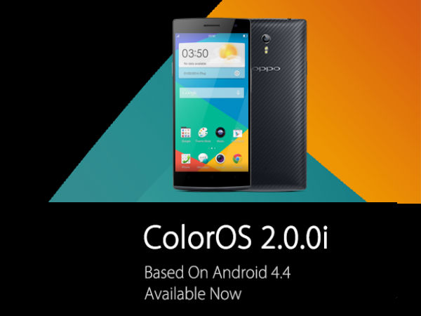 Oppo Releases KitKat-Based ColorOS v2.0 Update For Find 7, Find 7a