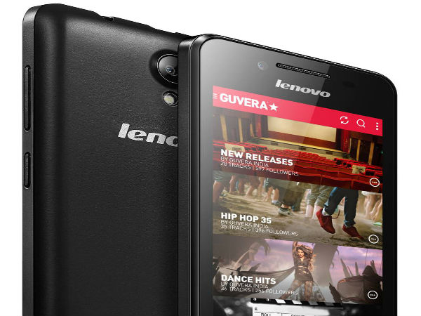 Lenovo RocStar Launched with Android KitKat at Rs 6,499